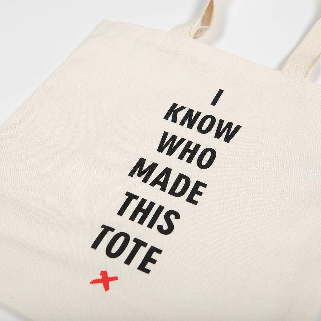 I Know Who Made This Reusable Tote