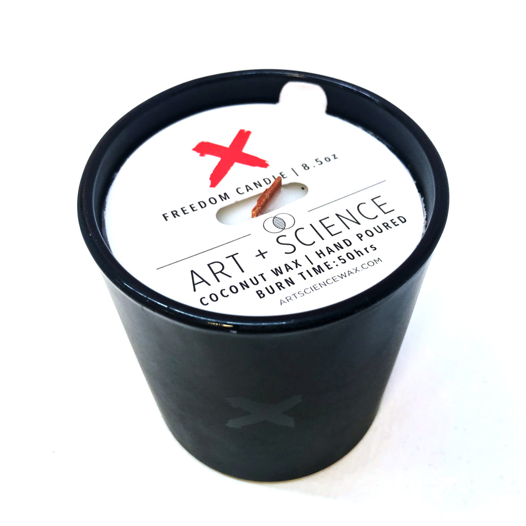 Art + Science Freedom Blackout Candle