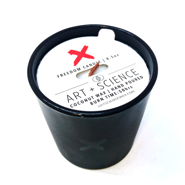 Art + Science Freedom Candle