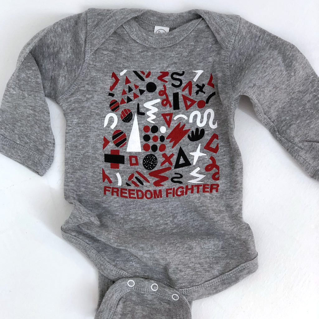 Freedom Fighter Onesie