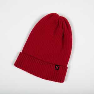END IT RED BEANIE