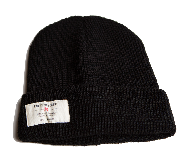 Shine a Light on Slavery Beanie
