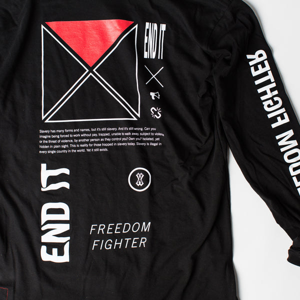 Symbols of Freedom Long-Sleeved