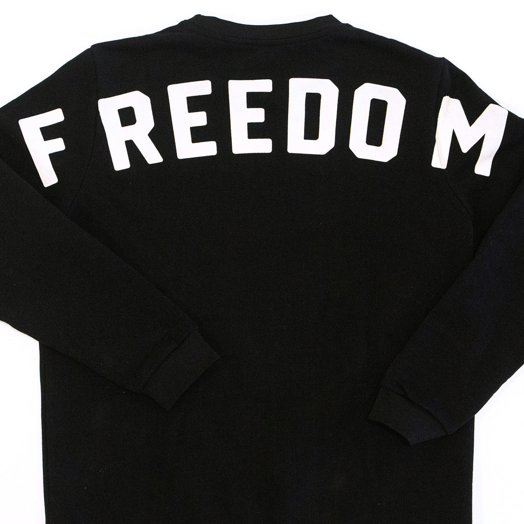 FREEDOM SWEATSHIRT - BLACK