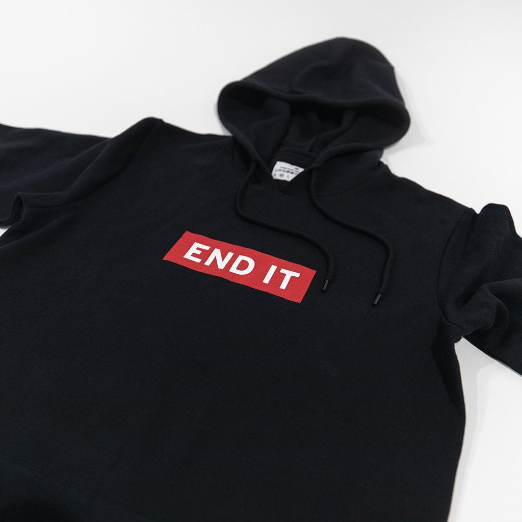 END IT SHORT SLEEVE HOODIE
