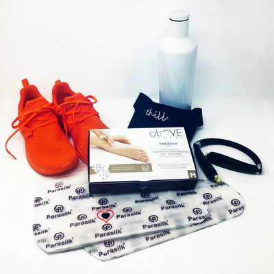 gLOVE Treat paraffin wax and coconut oil foot therapy treatment for athletes and runners
