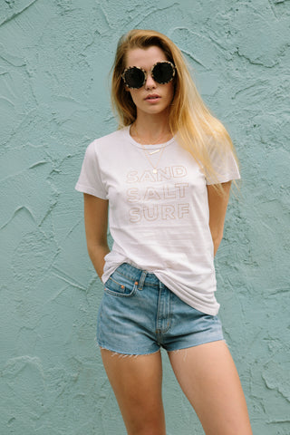 Sand Salt Surf Everyday Tee