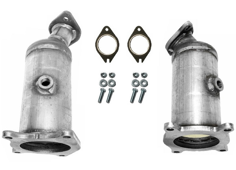 ECM SS44501MZ2 SS44502MZ4 Exhaust Catalytic Converters - Radiator & Firewall Sides
