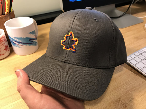 BCC Brooklyn Outline Fitted Hat