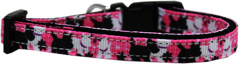 Plaid Pups Nylon Ribbon Cat Kitten Safety Collar
