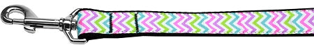 Summer Chevrons Nylon Dog Pet Puppy Leash