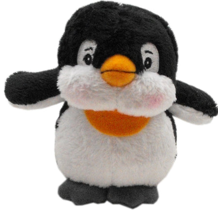 Plush Christmas Dog Toy with Squeaker Penguin Dog Pet Puppy Christmas Toy
