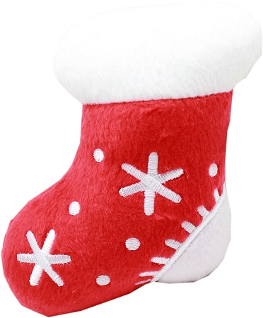 "Squeaky Toy 4"" Stocking Dog Pet Puppy Christmas Toy"