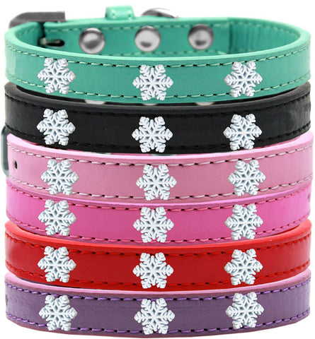 Snowflake Widget Dog Pet Puppy Collar