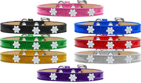 Snowflake Widget Ice Cream Dog Pet Puppy Collar