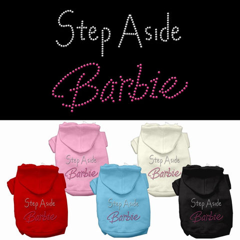 Step Aside Barbie Dog Cat Pet Puppy Hoodie Hooded Winter Apparel