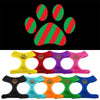 Christmas Paw Screen Print Soft Mesh Dog Pet Puppy Harness