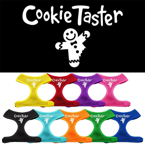 Cookie Taster Screen Print Soft Mesh Dog Pet Puppy Harness