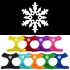Snowflake Design Soft Mesh Dog Pet Puppy Harness