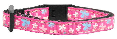 Butterfly Nylon Ribbon Cat Kitten Safety Collar