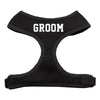 Groom Screen Print Soft Mesh Dog Pet Puppy Harness