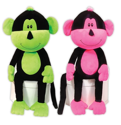 Neon Monkeys Dog Pet Puppy Chew Toy Set
