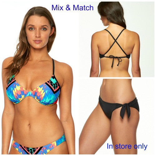 Mix and Match separate bikini tops and bottoms