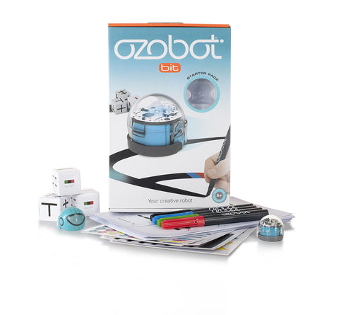 Bit by Ozobot, Starter Pack, Blue