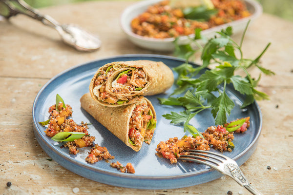 Lizza Quinoa Wrap
