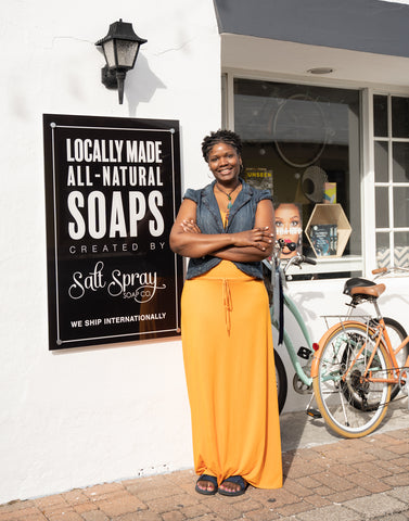 Salt Spray Soap Co Storefront