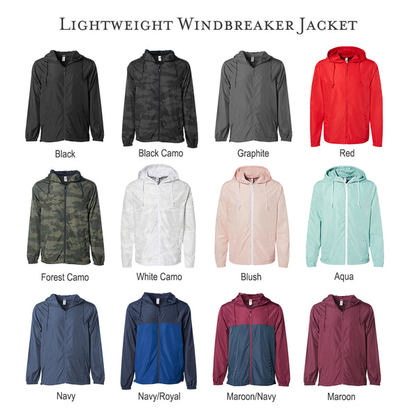 Alpha Delta Pi Lightweight Windbreaker Jacket