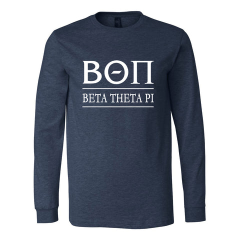 Beta Theta Pi Long Sleeve Tee