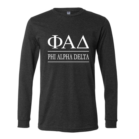 Phi Alpha Delta Long Sleeve Tee