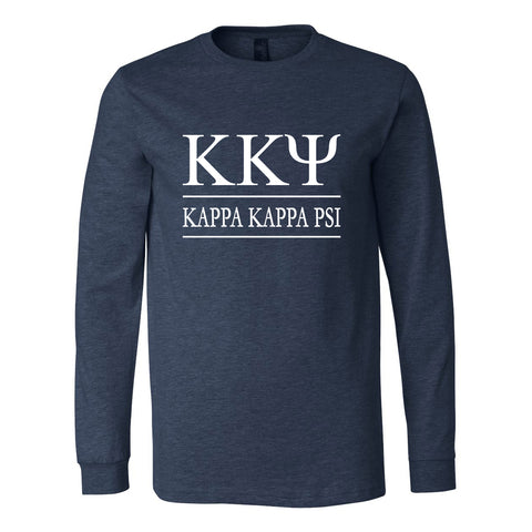 Kappa Kappa Psi Long Sleeve Tee