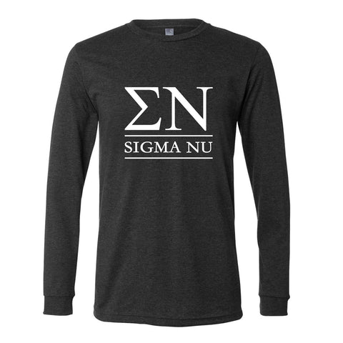 Sigma Nu Long Sleeve Tee