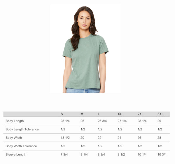 Alpha Xi Delta Women's Relaxed Fit Short Sleeve Jersey Tee
