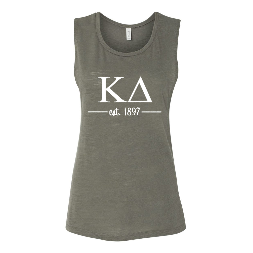 Kappa Delta Sleeveless Tee with Est. 1897