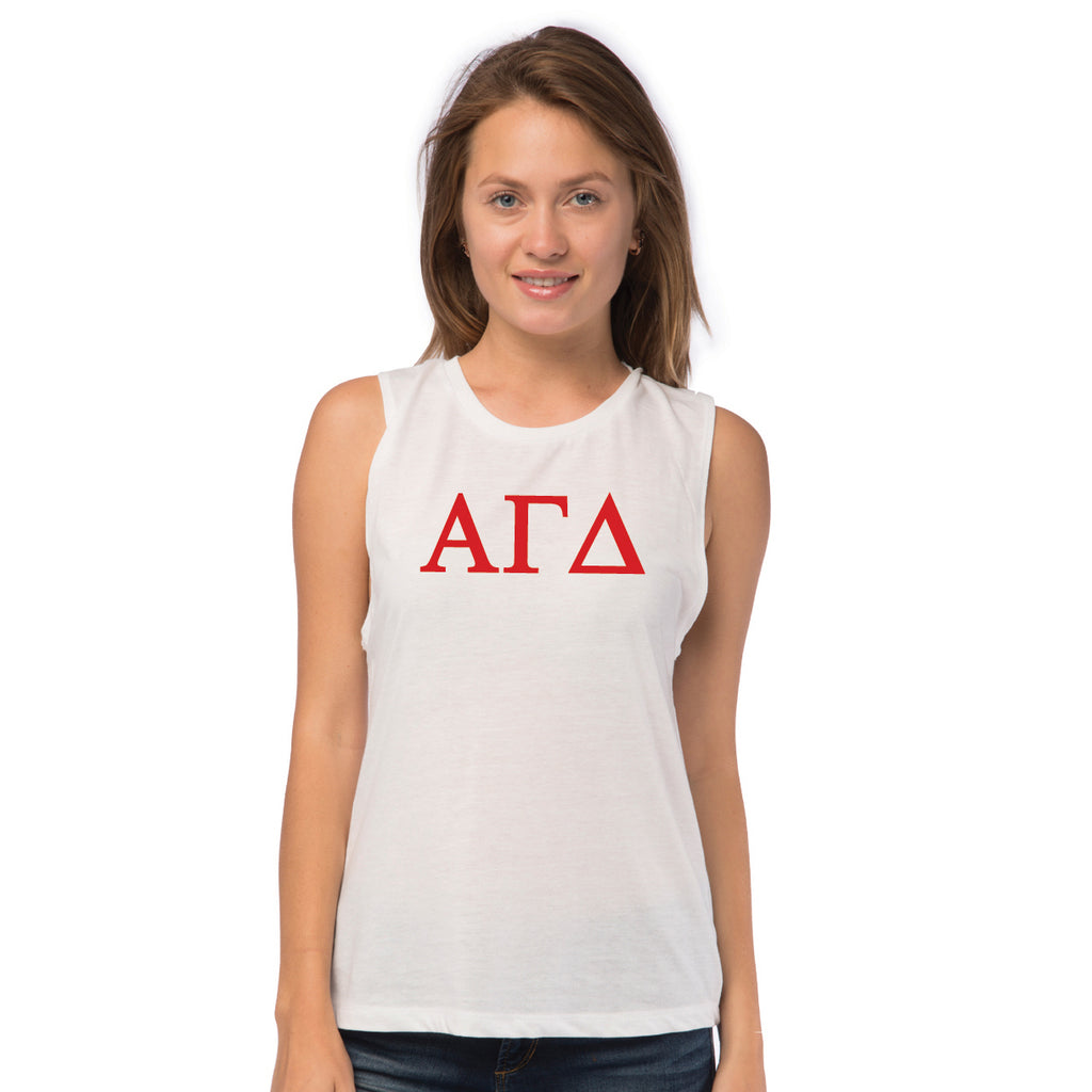 Alpha Gamma Delta Sleeveless Tee