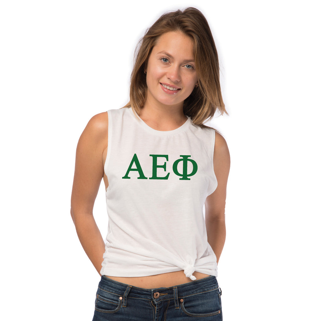 Alpha Epsilon Phi Sleeveless Tee