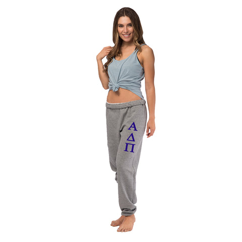 Alpha Delta Pi Oversized Boyfriend Sweats