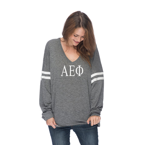 Alpha Epsilon Phi Long Sleeve Varsity T-Shirt