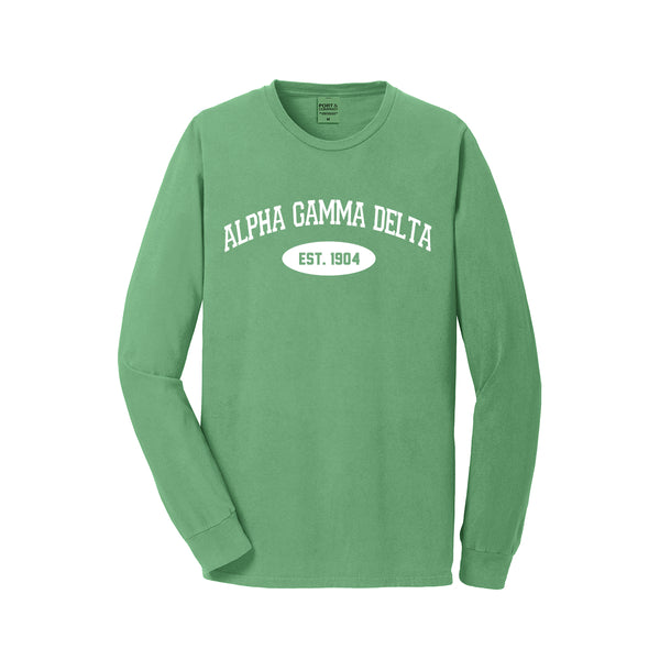 Alpha Gamma Delta Long Sleeve Vintage T-Shirt