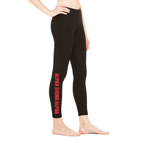 Alpha Sigma Alpha Leggings