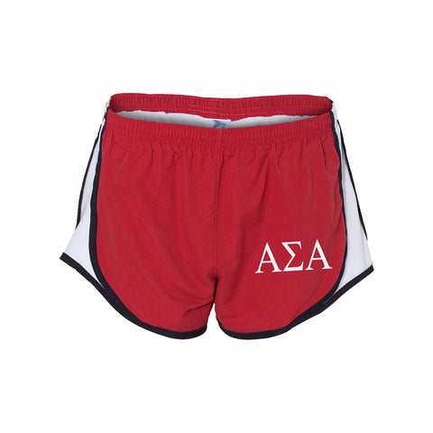 Alpha Sigma Alpha Running Shorts