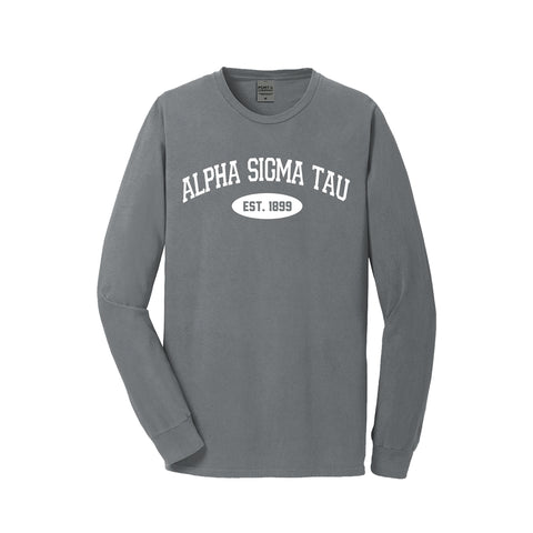 Alpha Sigma Tau Long Sleeve Vintage T-Shirt
