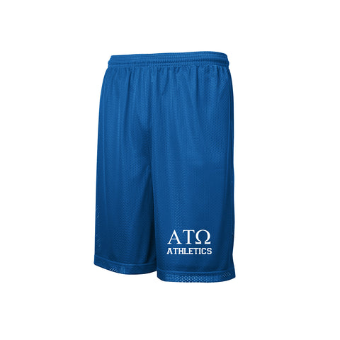 Alpha Tau Omega Mesh Sports Shorts
