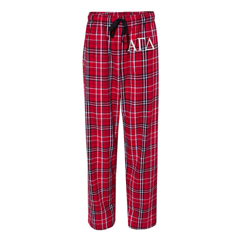 Alpha Gamma Delta Flannel Pants