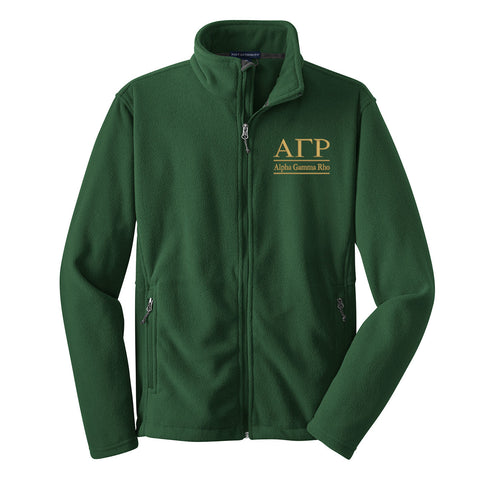 Alpha Gamma Rho Fleece Jacket