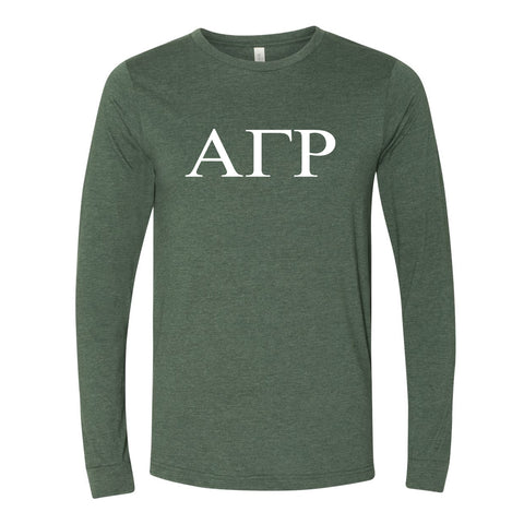 Alpha Gamma Rho Long Sleeve T-shirt