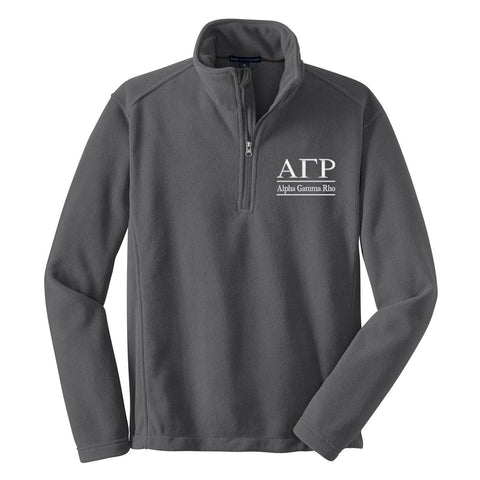 Alpha Gamma Rho Fleece Pullover